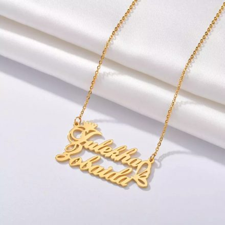 Name Necklace Gold