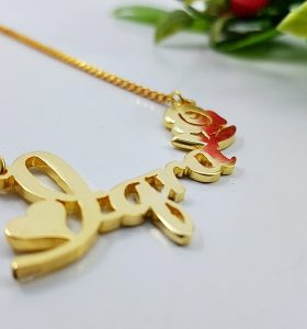 Name necklace lab pakistan